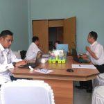 RAPAT RENAKSI KORSUPGAH KPK-RI DI INSPEKTORAT KAB. SANGGAU