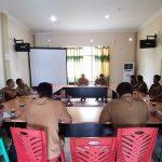 Rapat Penegasan Batas Desa antara: Desa Belangin, Desa Penyaladi dan Desa Lintang Kapuas