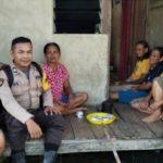 Sambangi Ibu-Ibu Brigpol Saiful Ampry Sampaikan Waspada Berita Hoax