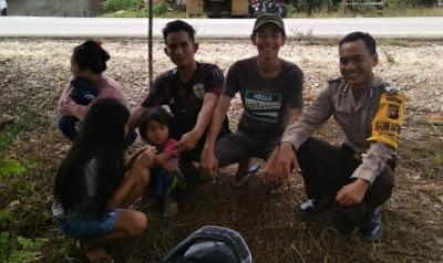 Sambangi Pemuda Bhabinkamtibmas Sampaikan Bijak Dalam Bermedsos