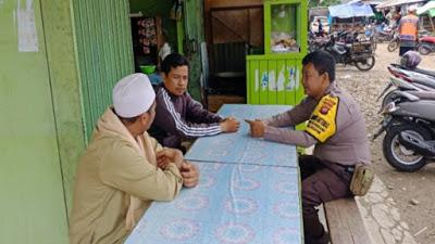Brigpol Novi Iswandi Sambangi Tokoh Agama Serta Himbau Bijak Dalam Bermedsos