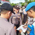 Si Propam Polres Sanggau Laksanakan Pemeriksaan Kelengkapan administrasi Personel