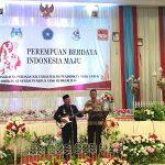 """Kapolres Sanggau Hadiri Peringatan Hari Ibu Ke 91 """"Perempuan Berdaya Indonesia Maju"""""""