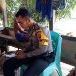 Bhabinkamtibmas Polsek Bonti  aktif Di Tengah-Tengah Masyarakat