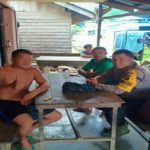 Bripka Saefudin Patroli Serta Sambang ke rumah Warga Binaan