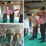 Pelaksanaan Kegiatan Supervisi dan Asistensi Polda Kalbar di Wilayah Polres Sanggau.