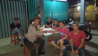 Bhabinkamtibmas Polsek Meliau Laksanakan Patroli Bepadah