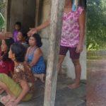 Desa Bulu Bala Banjir, Kapolsek Batang Tarang  Langsung Turun Ke Lokasi