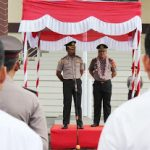 AKBP Raymond Marcellino Masengi Pimpin Apel Perdana didampingi AKBP Imam Riyadi