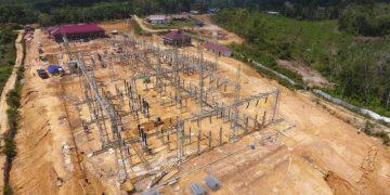 GI Sanggau 150 kV Terpasang, Masyarakat Sanggau Akan Dapat Penerangan Secara Utuh