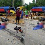 BREAKING NEWS - Kecelakaan di Jalan Raya Sosok-Kembayan, Pengendara Motor Tewas di Tempat