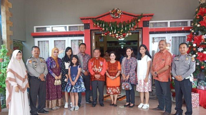 Bupati, Wakil Bupati dan Pj Sekda Sanggau Gelar Open House, Paolus Hadi Ajak Kuatkan Kebersamaan