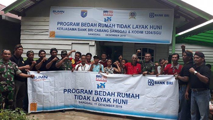 VIDEO: BRI Cabang Sanggau Berkerjasama dengan Kodim 1204/Sanggau Gelar Program Bedah Rumah