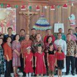 Perkuat Tali Persaudaraan dan Kebersamaan, Pemkab Sanggau Melaksanakan Safari Natal Bersama Dengan Umat Stasi Penyalimau Hilir