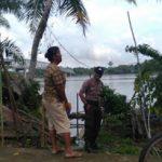 Disamping Patroli Aipda Anang Suwantoro Sampaikan Kepada Warga Bijaklah Dalam Bermedsos