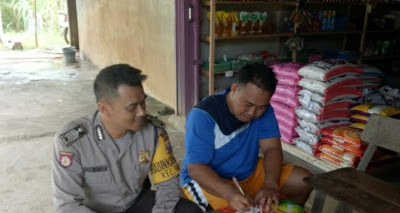 Sambangi Warga Binaan, Bripka Darmawan Sampaikan Pesan Kamtibmas
