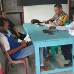 Briptu Yosef Jono Sambangi Kantor Desa Semirau Kecamatan Jangkang