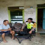 Sambangi Warga Binaan Briptu Juni Santoso Sampaikan Himbauan Kamtibmas