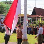 Pemkab Sanggau Gelar Upacara Peringatan HUT ke-63 Pemprov Kalbar