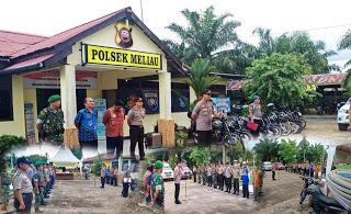 Apel Gabungan Satgas Siaga Bencana Kecamatan Meliau