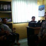 Bripka Sunu Joko Susanto Sambangi Kantor Desa Tanjung Merpati Serta Himbau Stop Pungli