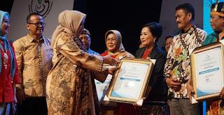 Menjadi Salahsatu Pelopor Gemar Makan Ikan,Kabupaten Sanggau dapat Penghargaan Tingkat Nasional