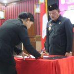 Bupati Sanggau Kembali Melantik 98 Pejabat Pengawas di Lingkungan Pemkab Sanggau