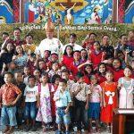Kepala DPM Pemdes mewakili Bupati Sanggau Safari Natal di Kec. Bonti