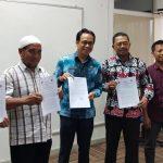 Penandatanganan PKS PSR Tiga Pihak Pertama di Tahun 2020