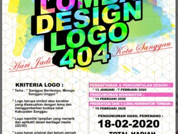 Sayembara Logo 404 Ulang Tahun Sanggau 2020