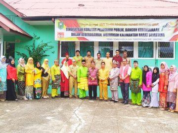 Seremonial Lepas Sambut Kabid Dinas Nakertrans Sanggau