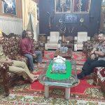 Kapolres Sanggau kunjungi Keraton Suryanegara Sanggau