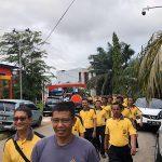 Polres Sanggau Rutin Melaksanakan Olahraga di Hari jumat