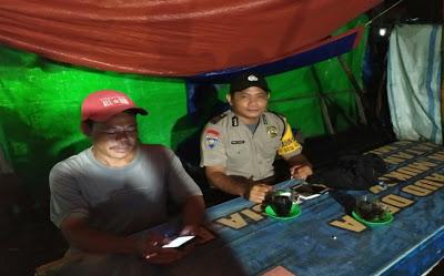 Sambangi Warga Binaan Brigpol Ahmad Kardoyo Sampaikan Himbauan Kamtibmas