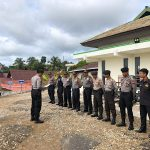 Polres Sanggau Laksanakan Pengamanan Sidang Tindak Pidana Pembunuhan di Pengadilan Negeri Sanggau