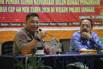 Polres Sanggau Pastikan Perayaan Imlek dan Cap Go Meh 2020 Aman