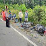 Kecelakaan Maut di Jalan Raya Beduai Tewaskan Dua Pengendara Sepeda Motor