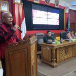 DPRD Provinsi Kalbar Mensosialisasikan Tiga Raperda Provinsi Kalbar di Kabupaten Sanggau