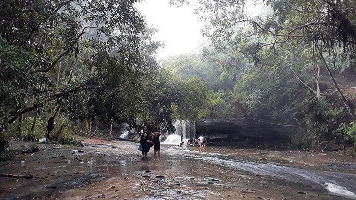 Objek Wisata Pancur Aji Sanggau Jadi Pilihan Habiskan Waktu Libur
