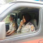 Satbinmas Polres Sanggau Ingatkan Warga Sholat Jum'at