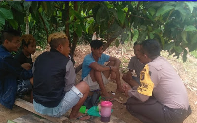 Sambangi Pemuda Bripka Suryadi Himbau Bijak Dalam Bermedsos