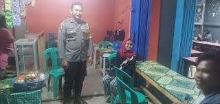 Antisipasi Gangguan Kamtibmas, Brigpol Saiful Ampry Aktif Laksanakan Patroli Malam Hari