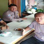 Himbauan Kamtibmas  Brigpol Ali Solikin dan Brigpol Novi Iswandi di Desa Lubuk Sabuk