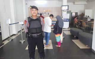 Beri Rasa Aman, Sat Sabhara Polres Sanggau Laksanakan Pengamanan Objek Vital