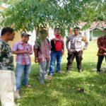 Bripda Angga Himbaukan Kamtibmas di Desa Semayang