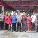 Tiba Di Kabupaten Sanggau, Kapolda Kalbar Temui Ketua DAD Sanggau