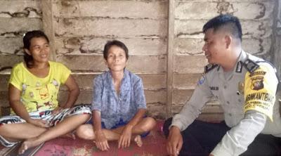 Brigpol Larso Simandalahi Himbau Ibu-Ibu Waspada Pencurian