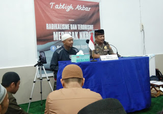 Kompol Wardaya Hadiri Kajian Islam bersama Al-Ustadz Abdurrahim Ayyub