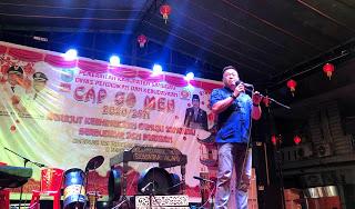 Malam Penutupan Cap Go Meh 2020, Bupati Sanggau : Jiwa Semangat Melestarikan Budaya Tetap Dipertahankan