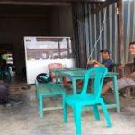 Sambangi Sekelompok Pemuda Bripka Wahyu Ari Wibowo Himbau Jauhi Narkoba  dan Minuman Keras
